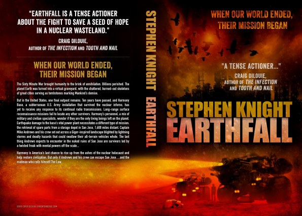 EARTHFALL Print Cover...ain't it purty?